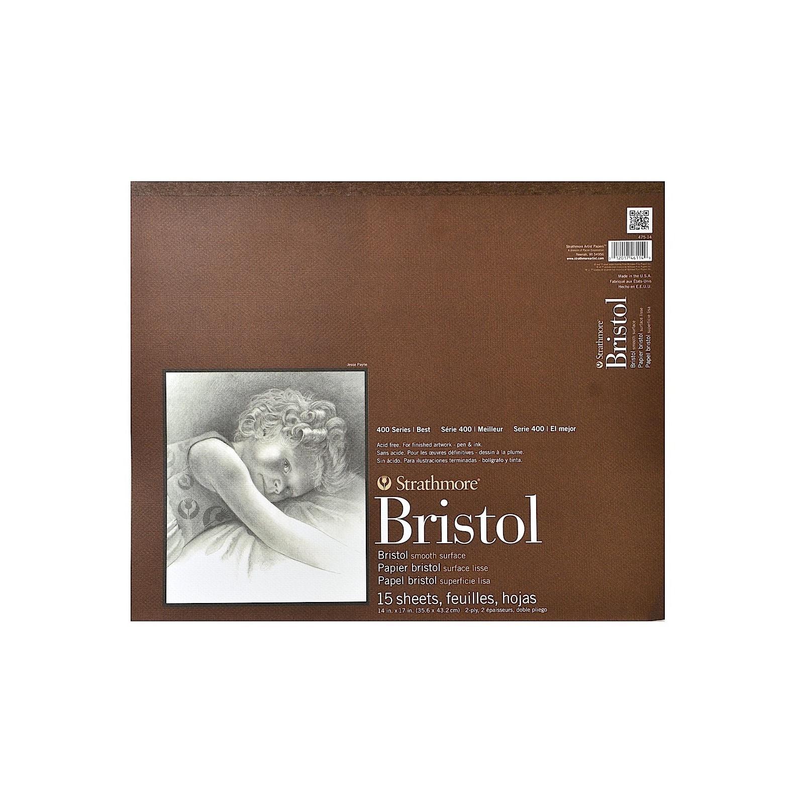 14 x 17 Inch Pad Canson Foundation Bristol Smooth