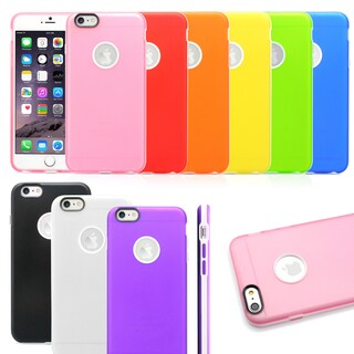 Gearonic Ultra Thin TPU Bumper Hard Case Cover for Apple iPhone 6 Plus
