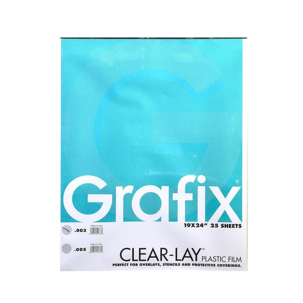 Grafix Clear-Lay Acetate Alternative - Clear