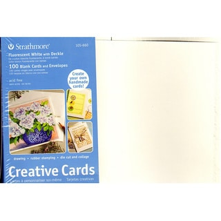 Strathmore Blank Greeting Cards with Envelopes