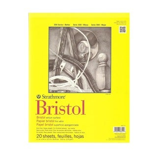 Strathmore 300 Series Bristol - Yellow