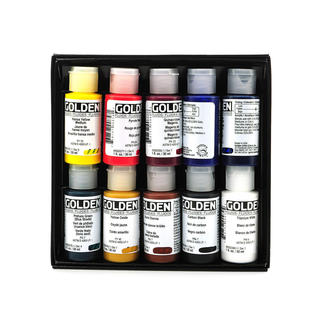 Golden Principal 10 Fluid Acrylic Set