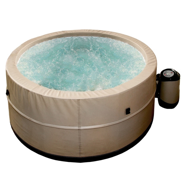 Radiant grand oasis 72 inch 5 person foam wall portable for Ukuran box salon 8 inch