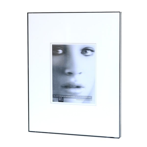 Framatic Double Matted Fineline Aluminum Frames