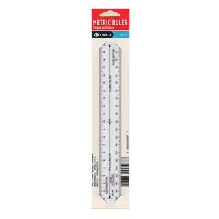 Westcott Metric Opaque Ruler