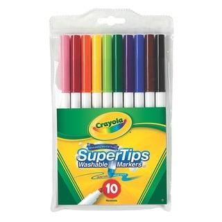 Crayola Super Tip Fineline Marker Set (Pack of 12)
