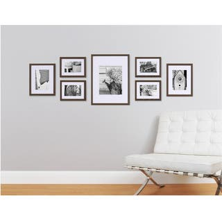 Pinnacle Frames & Accents Gallery Perfect 7 Piece Wall Kits|https://ak1.ostkcdn.com/images/products/9675376/P16855265.jpg?impolicy=medium