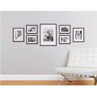 pinnacle frames u0026 accents gallery perfect 7 piece wall kits