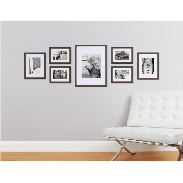 Pinnacle Frames & Accents Gallery Perfect 7-piece Wall Kits - Free ...
