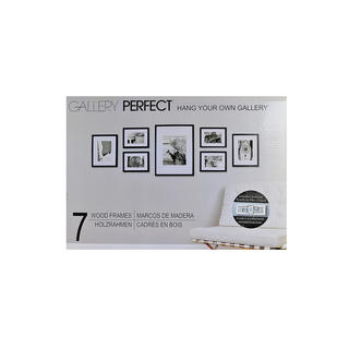 Pinnacle Frames & Accents Gallery Perfect 7 Piece Wall Kits