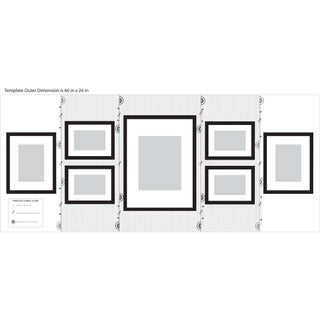 Pinnacle Frames & Accents Gallery Perfect 7-piece Wall Kits