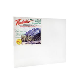 Fredrix Archival Linen Canvas Boards