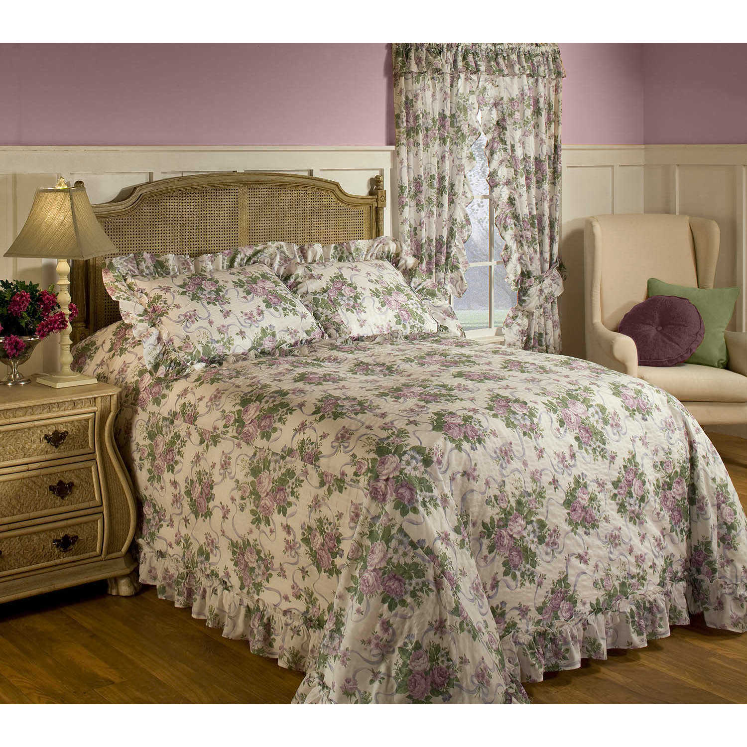 Madison The Gray Barn Crooked Creek Floral Bedspread (Twi...