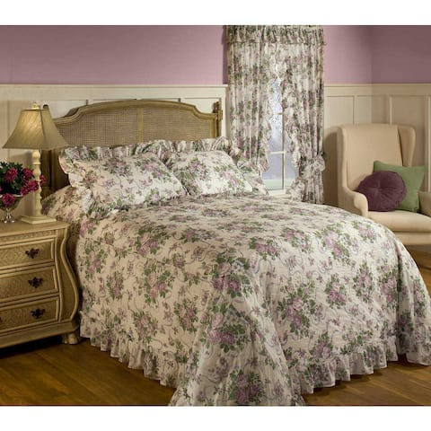 Copper Grove Redwood Floral Bedspread