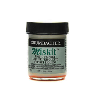 Grumbacher Miskit Liquid Frisket (Pack of 2)