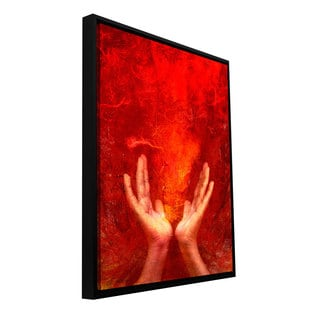 ArtWall Elena Ray 'Chakra Fire' Floater Framed Gallery-wrapped Canvas
