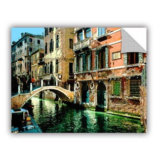 Art Appealz George Zucconi 'Venice Canal' Removable Wall Art Graphic