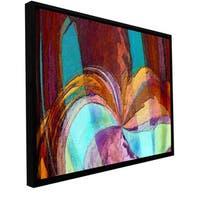 ArtWall Dean Uhlinger 'Yata' Floater Framed Gallery-wrapped Canvas