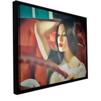ArtWall Dean Uhlinger 'Drive' Floater Framed Gallery-wrapped Canvas