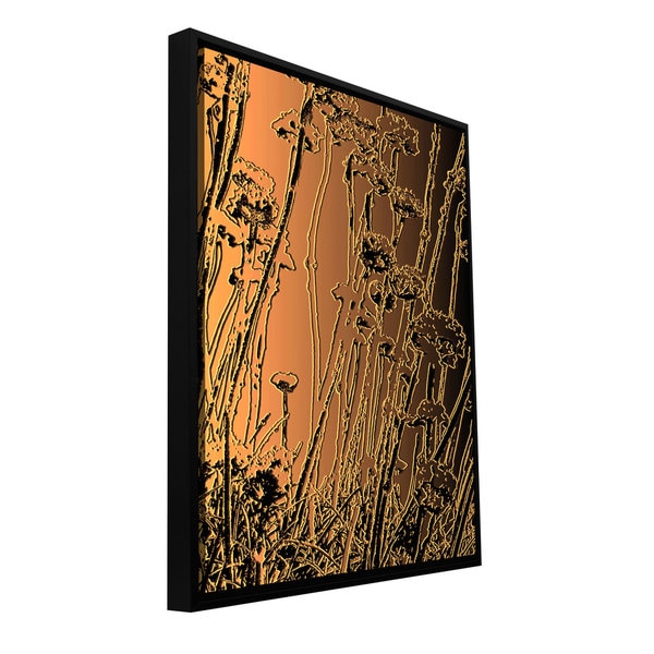 ArtWall Dean Uhlinger 'In The Garden' Floater Framed Gallery-wrapped Canvas. Opens flyout.