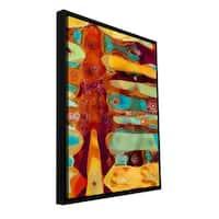 ArtWall Dean Uhlinger 'Totem' Floater Framed Gallery-wrapped Canvas
