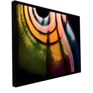 ArtWall Dean Uhlinger 'La Tierra Al Cielo' Floater Framed Gallery-wrapped Canvas