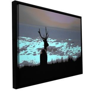 ArtWall Dean Uhlinger 'Daydreamer' Floater Framed Gallery-wrapped Canvas