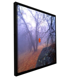 ArtWall Dean Uhlinger 'Nearly Winter' Floater Framed Gallery-wrapped Canvas
