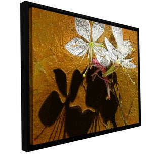 ArtWall Dean Uhlinger 'Spring Shadows' Floater Framed Gallery-wrapped Canvas