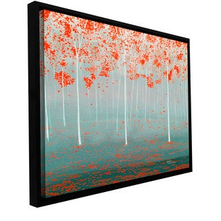 ArtWall Herb Dickinson 'Dream Forest' Floater Framed Gallery-wrapped Canvas