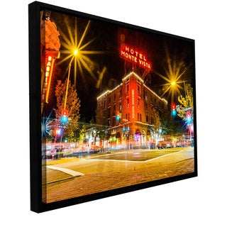 ArtWall Cody York 'Flagstaff' Floater Framed Gallery-wrapped Canvas