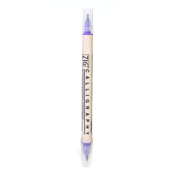 Zig Memory System Twin Tip Calligraphy Pen Free Shipping