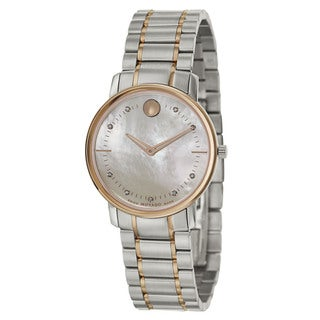 Movado Women's 0606692 'Movado TC' Stainless Steel Swiss Quartz Watch