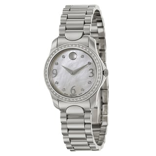 Movado Women's 0606706 'Moda' Stainless Steel Swiss Quartz Watch