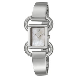 Movado Women's 0606736 'Linio' Stainless Steel Swiss Quartz Watch