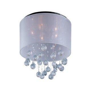 Veil Chrome 5-light Flush Mount