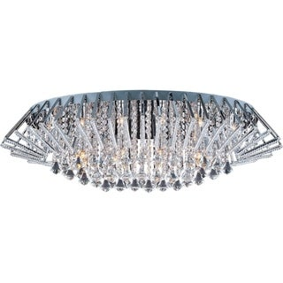 Zen Chrome 25-light Flush Mount