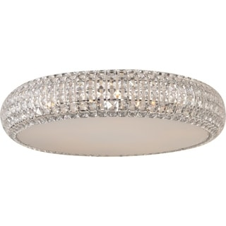 Bijou Chrome 4-light Flush Mount