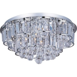Bangle Chrome 12-light Flush Mount