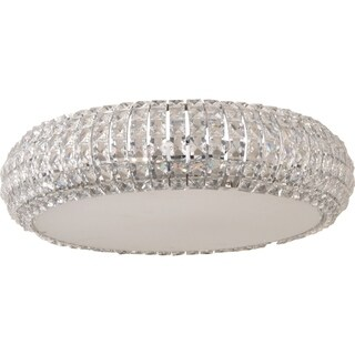 Bijou Chrome 6-light Flush Mount