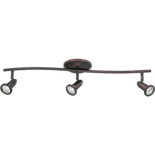 Agron Bronze 3-light Flush Mount - Agron Bronze