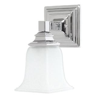Capital Lighting Transitional 1-light Chrome Wall Sconce