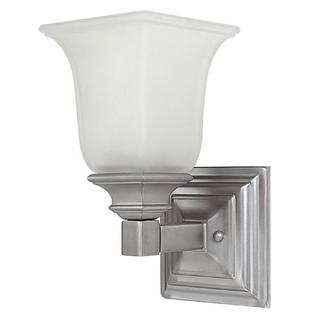 Capital Lighting Transitional 1-light Matte Nickel Wall Sconce