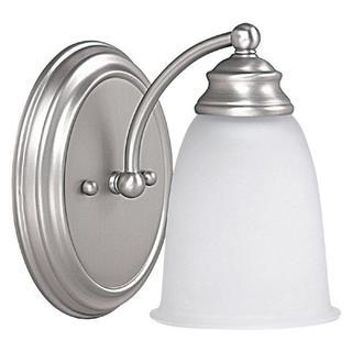 Capital Lighting Transitional 1-light Matte Nickel Wall Sconce/Bath/Vanity Light
