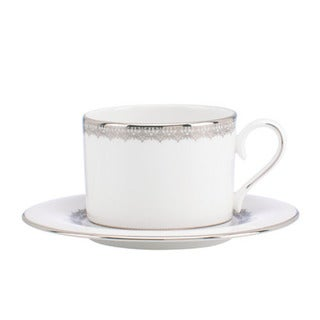 Lenox Lace Couture Cup and Saucer Set