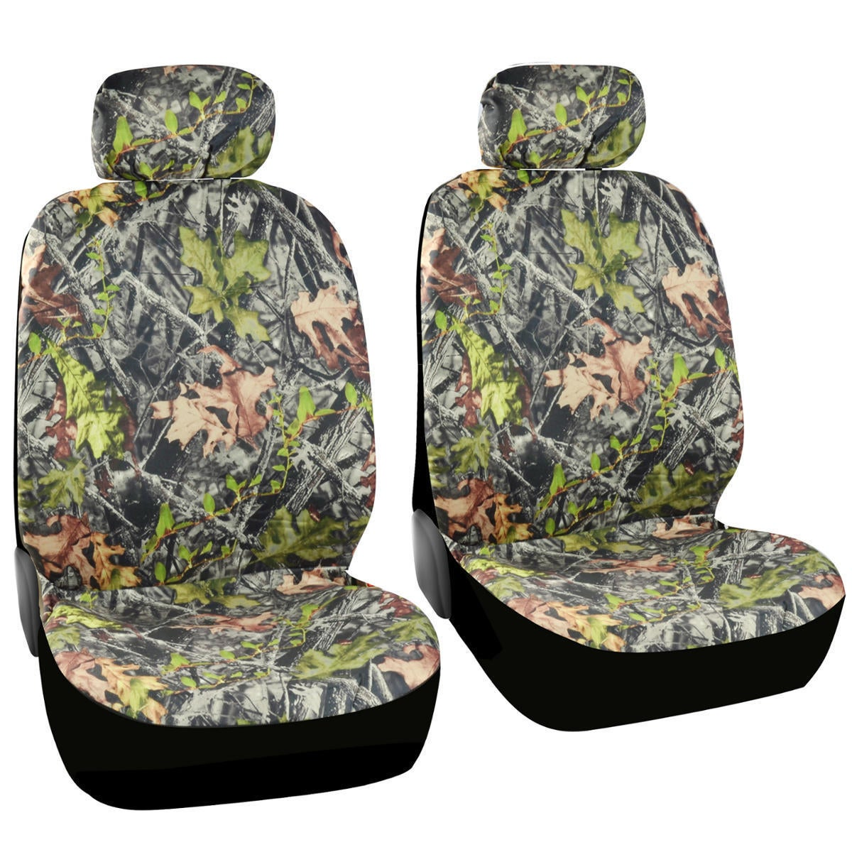 BDK Camouflage Seat Covers for Cars Low Back Seat (Camouf...