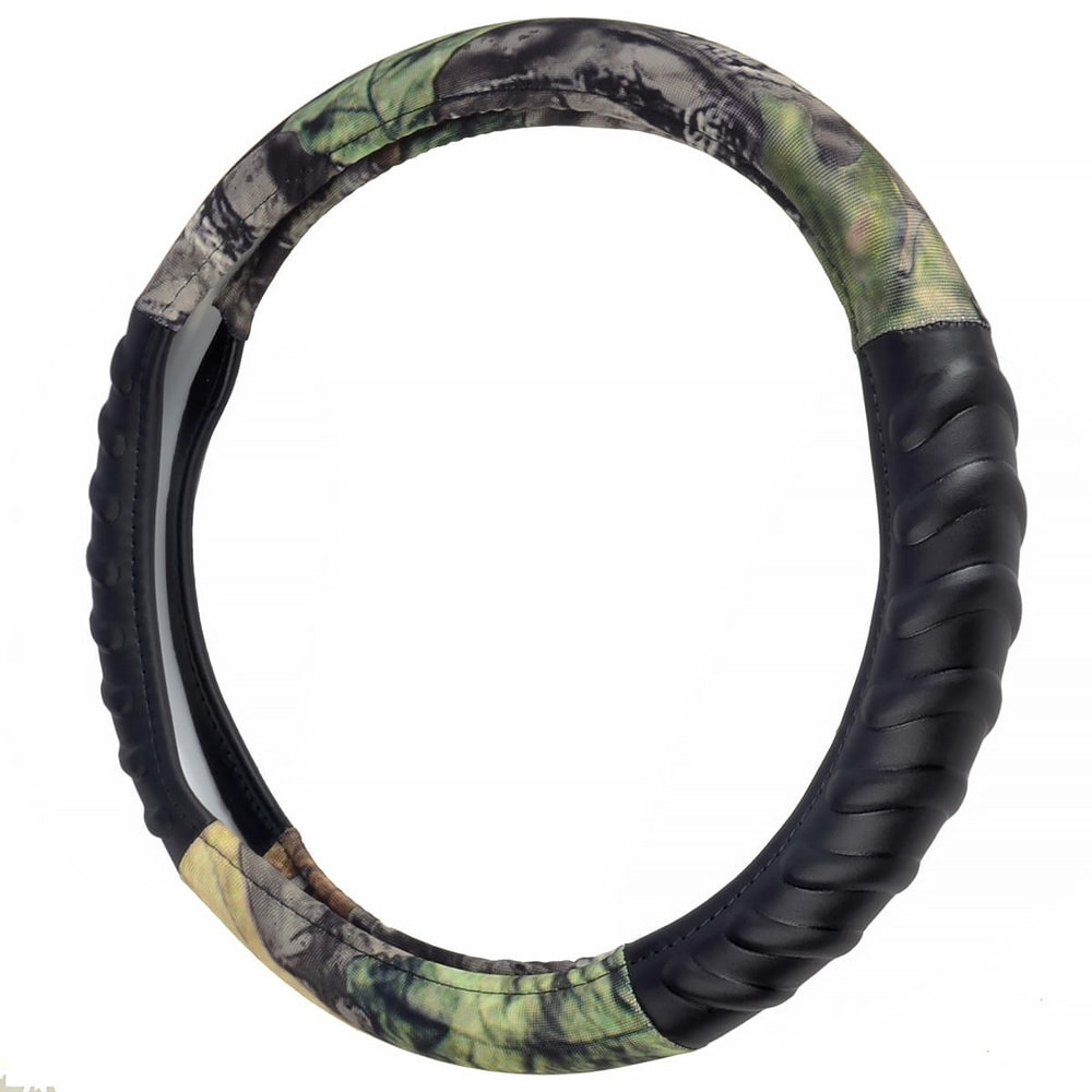 Motor Trend Camouflage Steering Wheel Cover Hawg Camo Des...