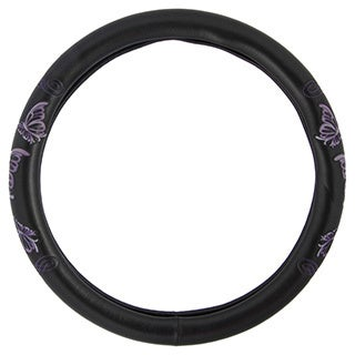 BDK Butterfly Steering Wheel Cover 15-inch Universal Fit