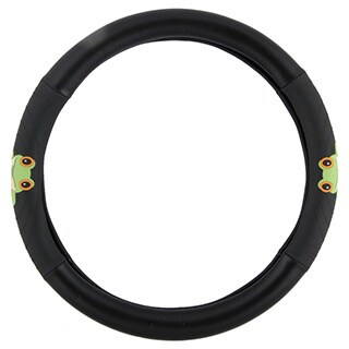 BDK Frog Steering Wheel Cover 15-inch Universal Fit