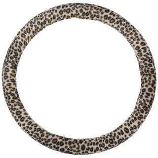 BDK Original Animal Print Cheetah Steering Wheel Cover 15-inch Universal Fit /